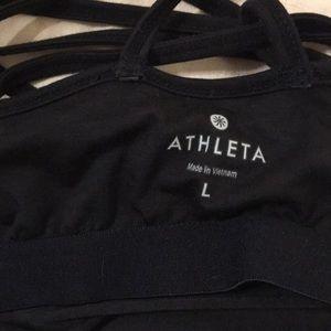 Athleta Tops - Athleta cross back tank w/built in bra